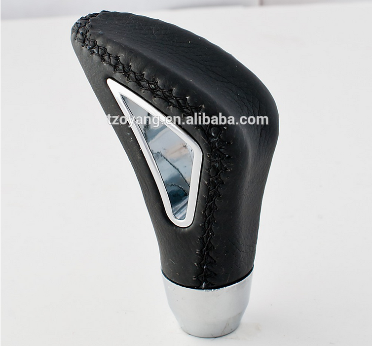 Triangle Leather GEAR SHIFT KNOB